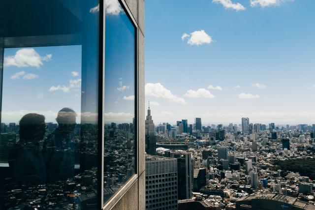 Видовая площадка в здании Токийской мэрии