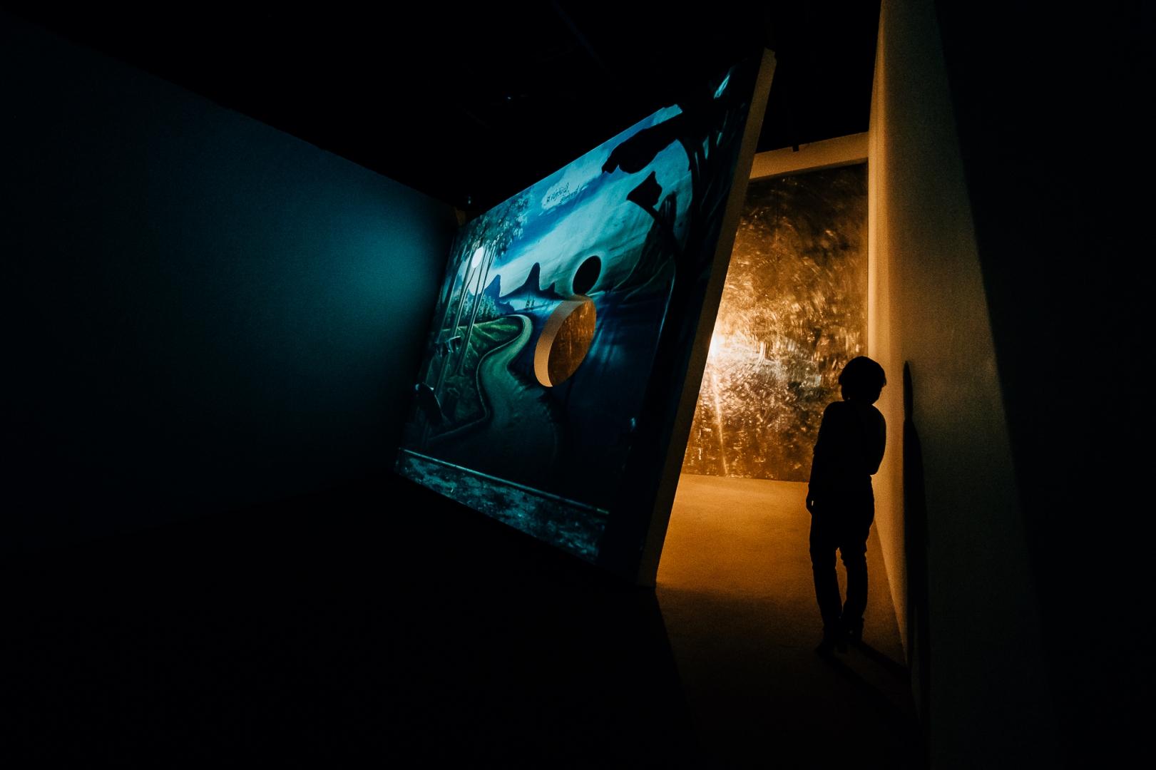 Инсталляция в музее архитектуры Мори