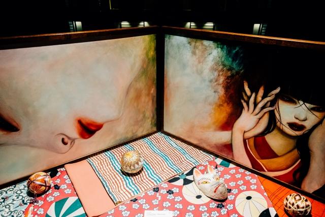 Выставка местных художников в «Park Hotel Tokyo
