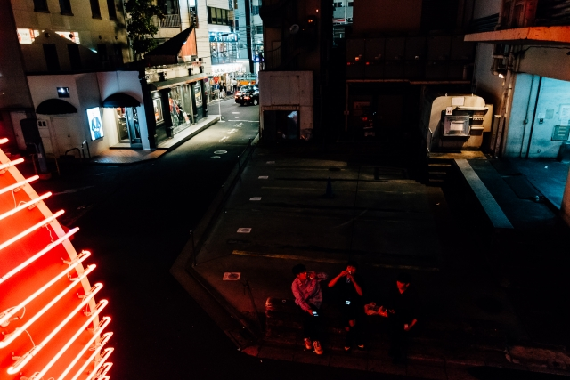 Ночная жизнь квартала Роппонги