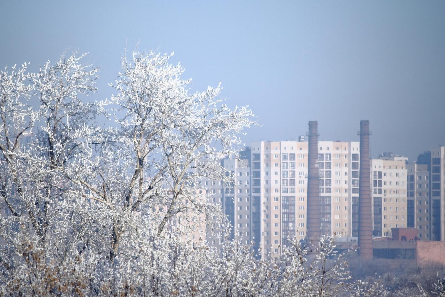 Мороз в Омске
