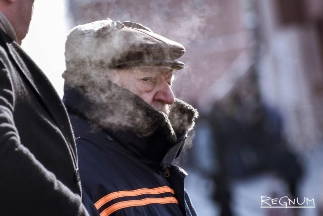 Сильные морозы