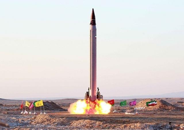 Пуск иранской ракеты