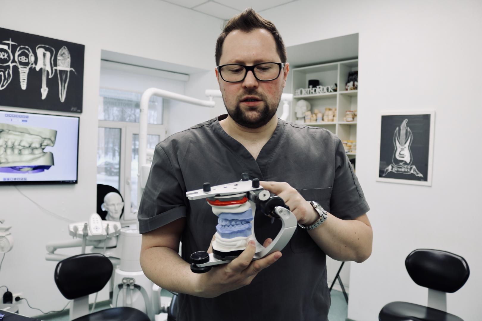 Станислав рассказывает о новых технологиях в стоматологии