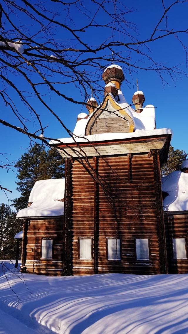 Ильинская церковь Артемиево-Веркольского монастыря
