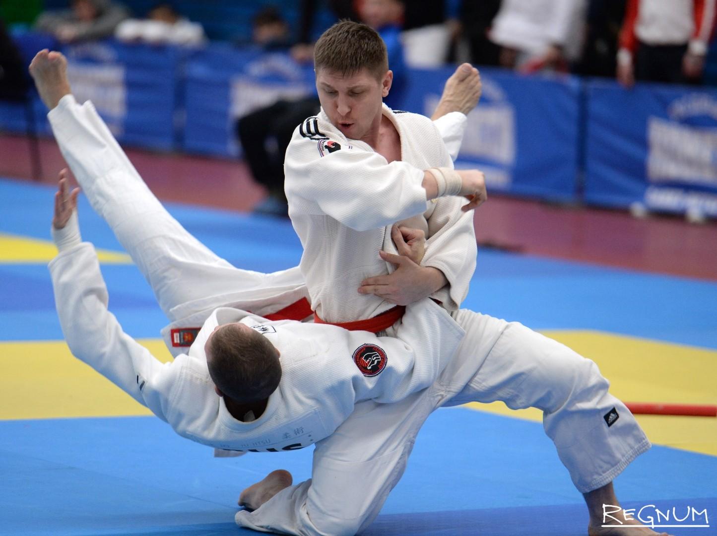 Чемпионат и первенство России по джиу-джитсу