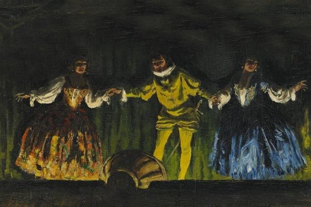 Геза Фараго. Театральная сцена