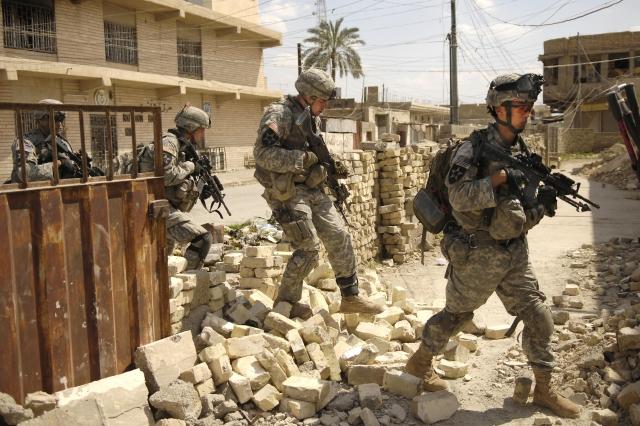 Американские солдаты. Ирак