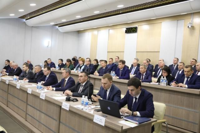 Участники заседания федерального оргкомитета