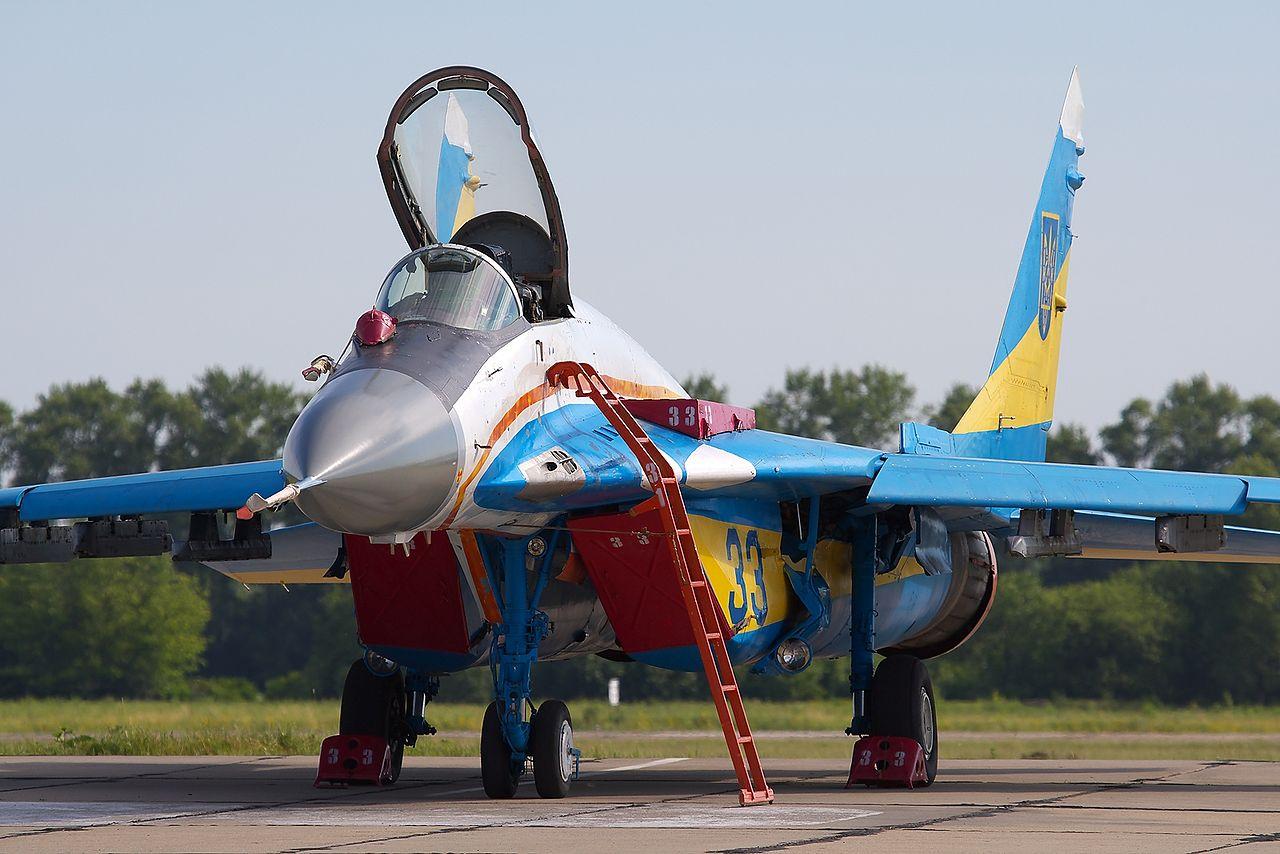 МіГ-29 ВВС Украины