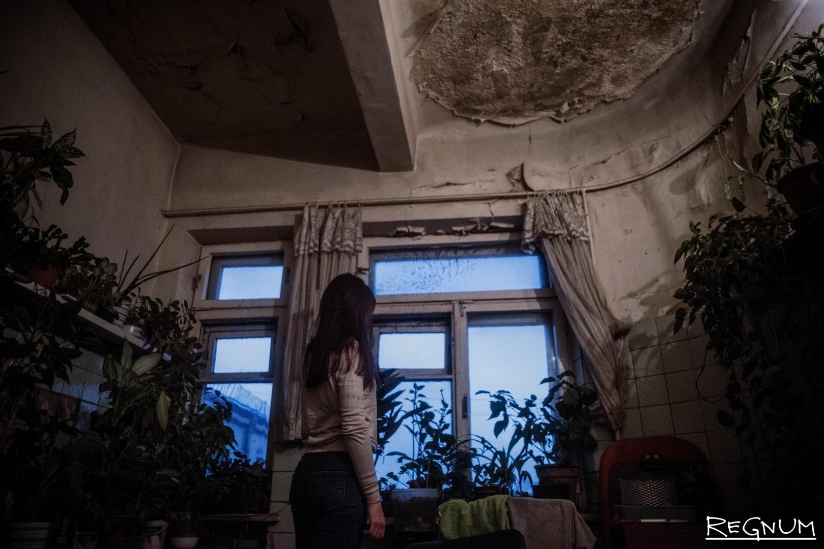 Общежитие нуждается в капитальном ремонте