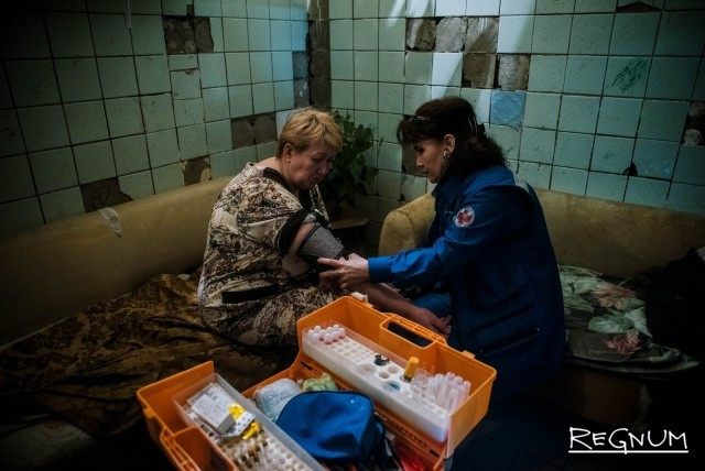 После всех потрясений, Светлане потребовалась медицинская помощь