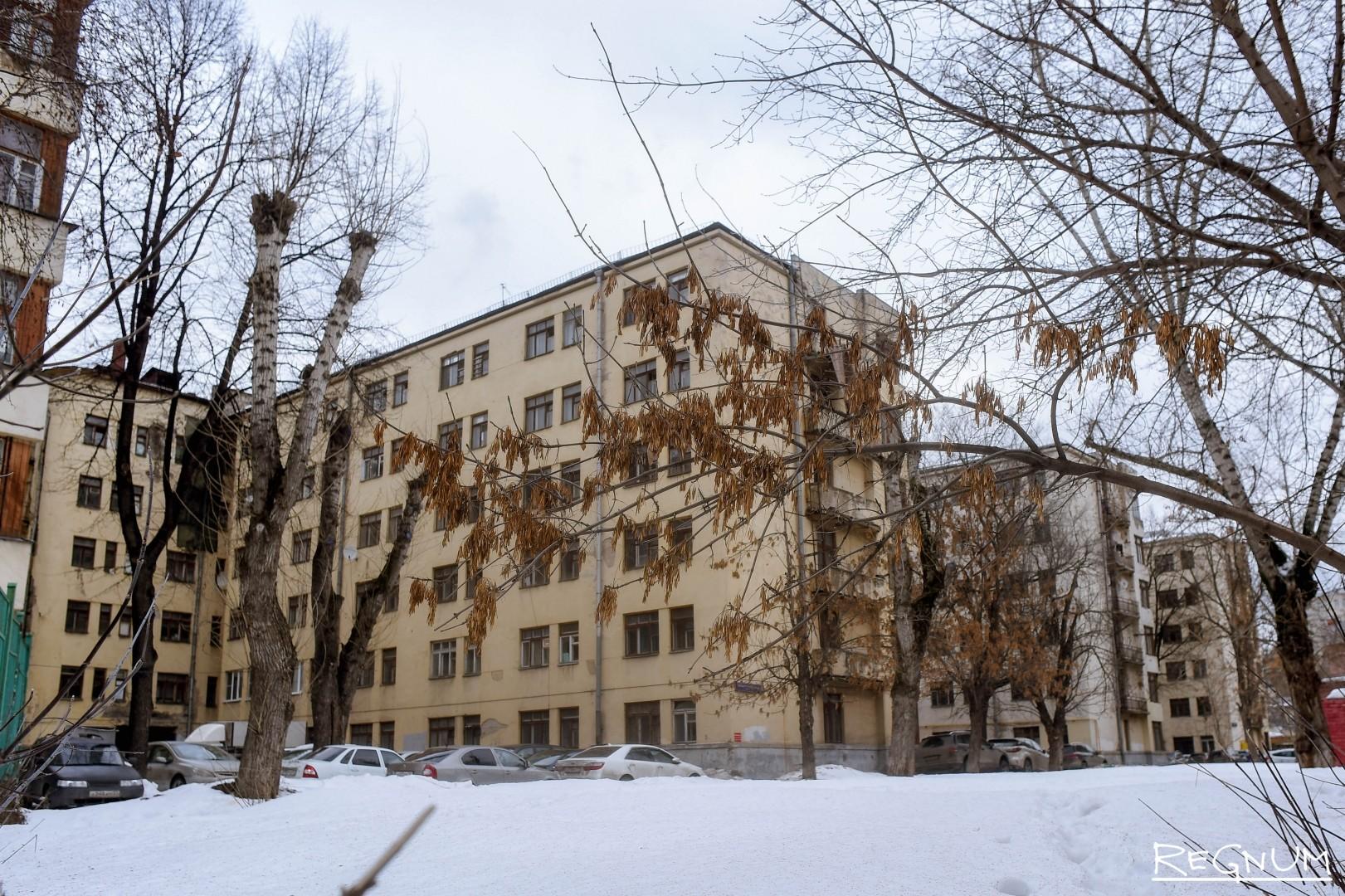 Общежитие Минобороны на Большой Пироговской, 51