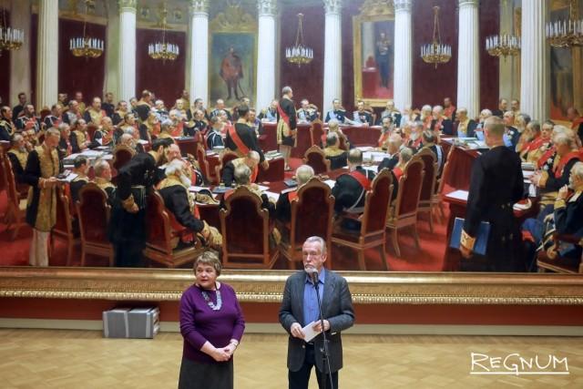 Гигантскую картину Репина готовят в путь из Петербурга в Москву