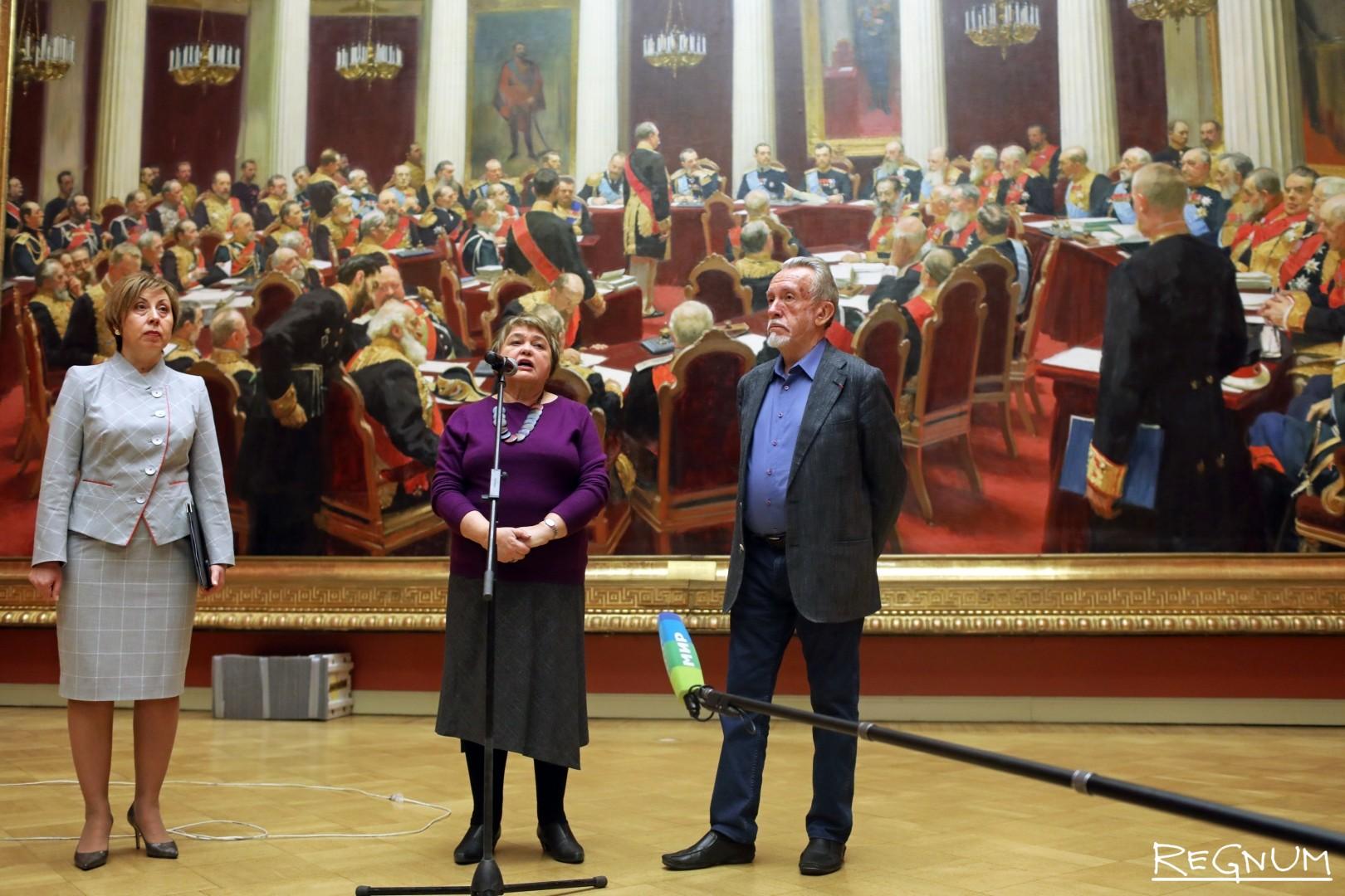 Пресс-подход директора Русского музея