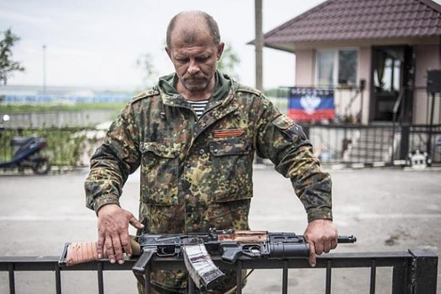 Ветеран ополчения Донбасса