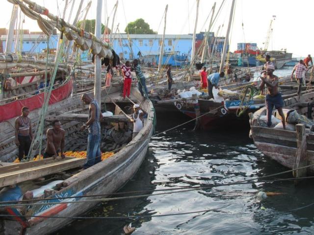 Портовый рынок. Танзания
