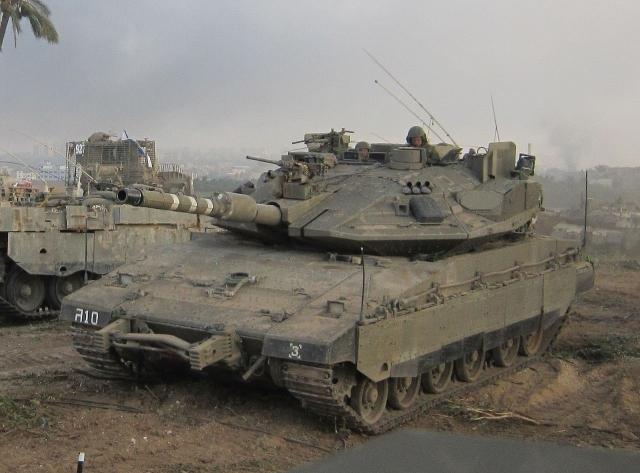 Израильские танки обстреляли больницу на территории Сирии