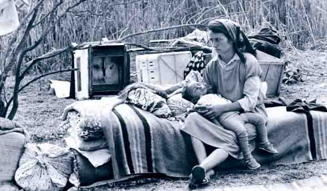 Внутренне перемещённые азербайджанцы, Карабахский конфликт. 1993 год