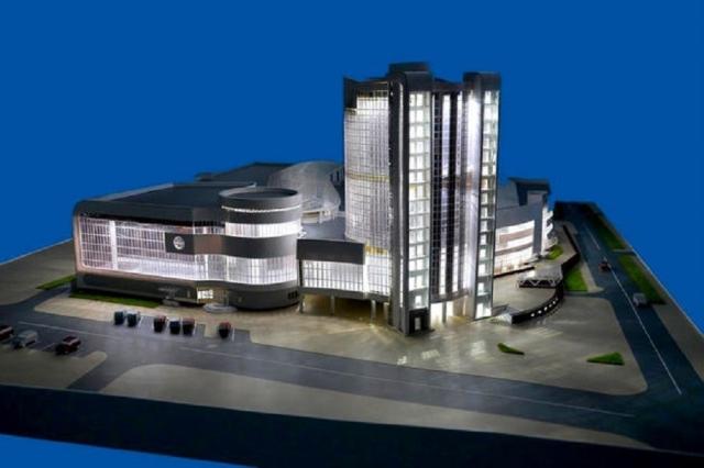 Медведев выделил на будущий Дворец спорта в Калуге более 1,8 млрд рублей