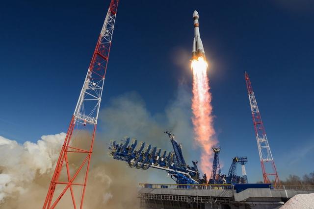 Старт ракеты Союз 2.1