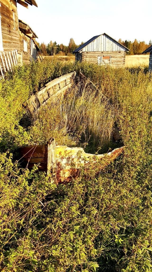Поморское село Луда — мертвый карбас
