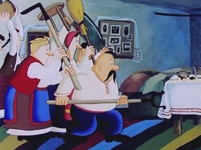 Цитата из мф Жил-был пёс. Реж. Эдуард Назаров. 1982. СССР