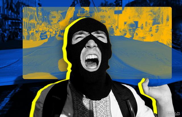В Киеве арестован полицейский, применивший силу к преступнику-нацисту