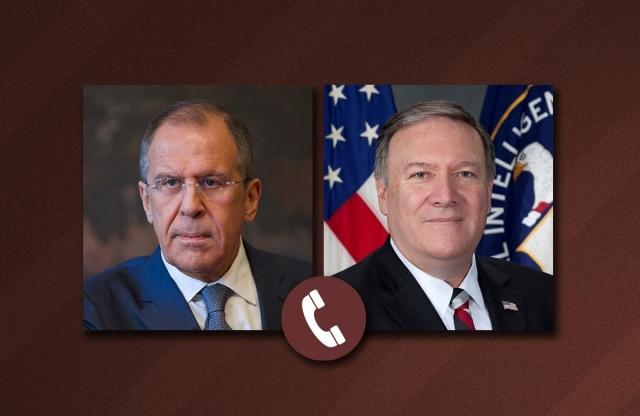 Лавров предупредил Помпео о негативных последствиях новых санкций США