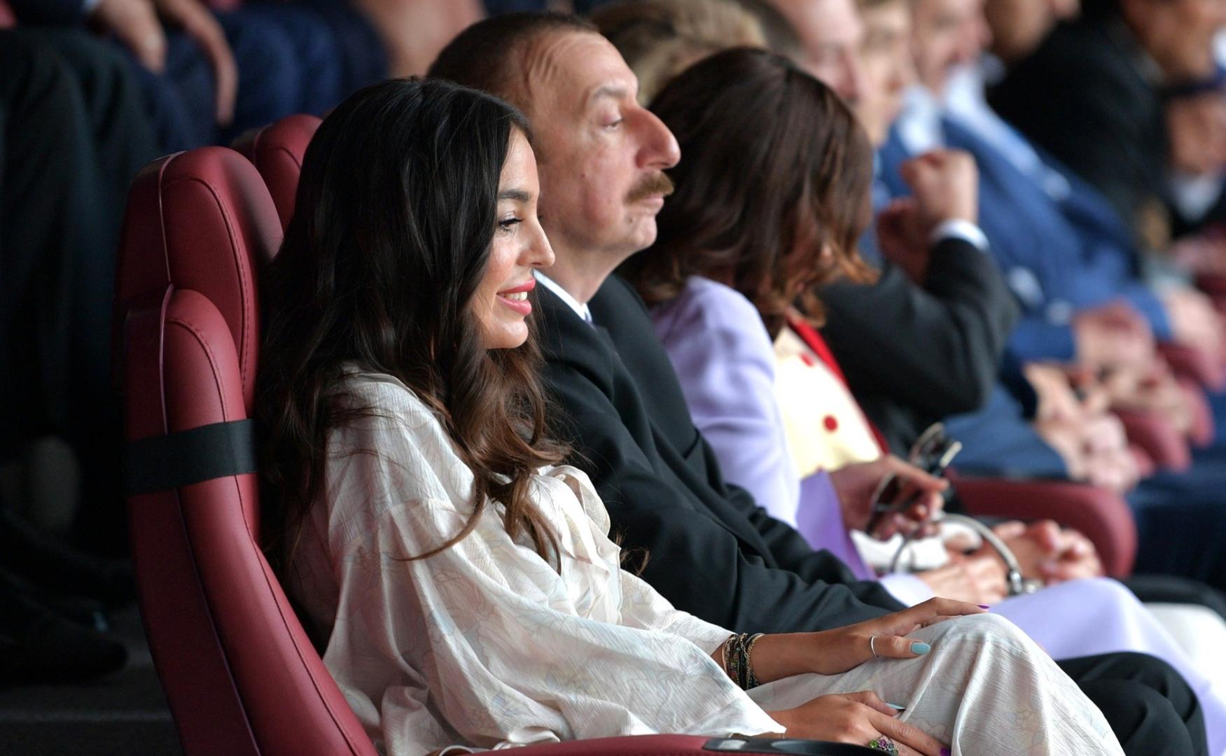 Ильхам Алиев на церемонии открытия чемпионата мира по футболу 2018 года