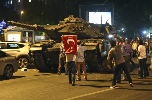 Попытка военного переворота в Турции. 2016