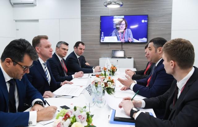 Руденя: Тверская область – площадка для развития новых программ ВЭБ.РФ