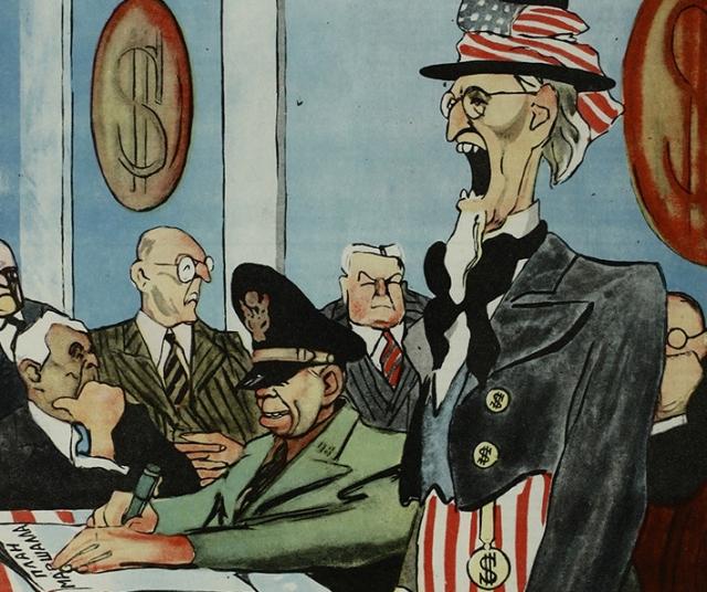 Лев Бродаты. Джентльмены! Европа в опасности! С Востока ей грозит мир! (фрагмент)