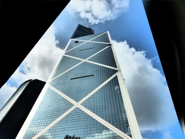 Здание «Bank of China». Гонконг