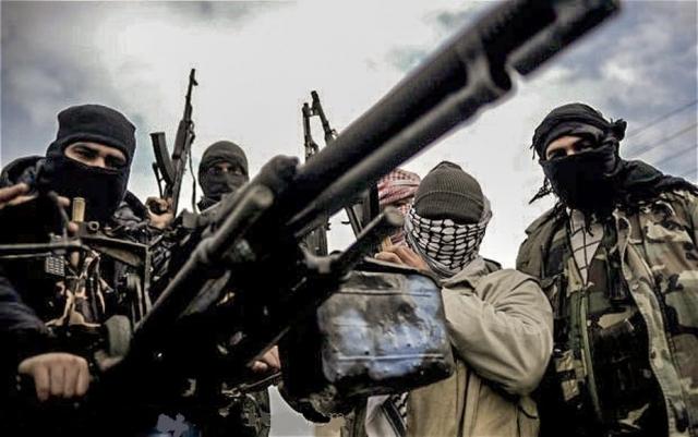 Боевики. Сирия.