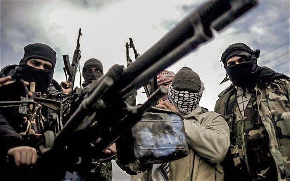 Боевики. Сирия