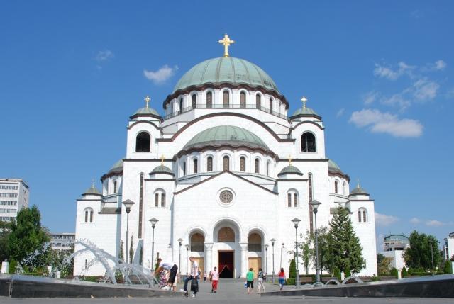 Собор Св. Саввы в Белграде — кафедра Патриарха Сербского