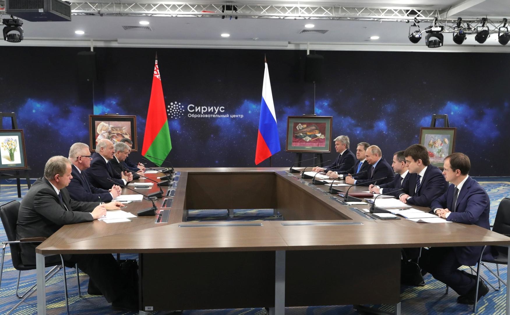 Встреча по вопросам развития российско-белорусских гуманитарных связей