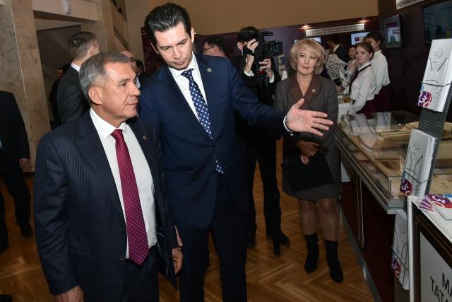 Рустам Минниханов и Фарид Абдулганиев