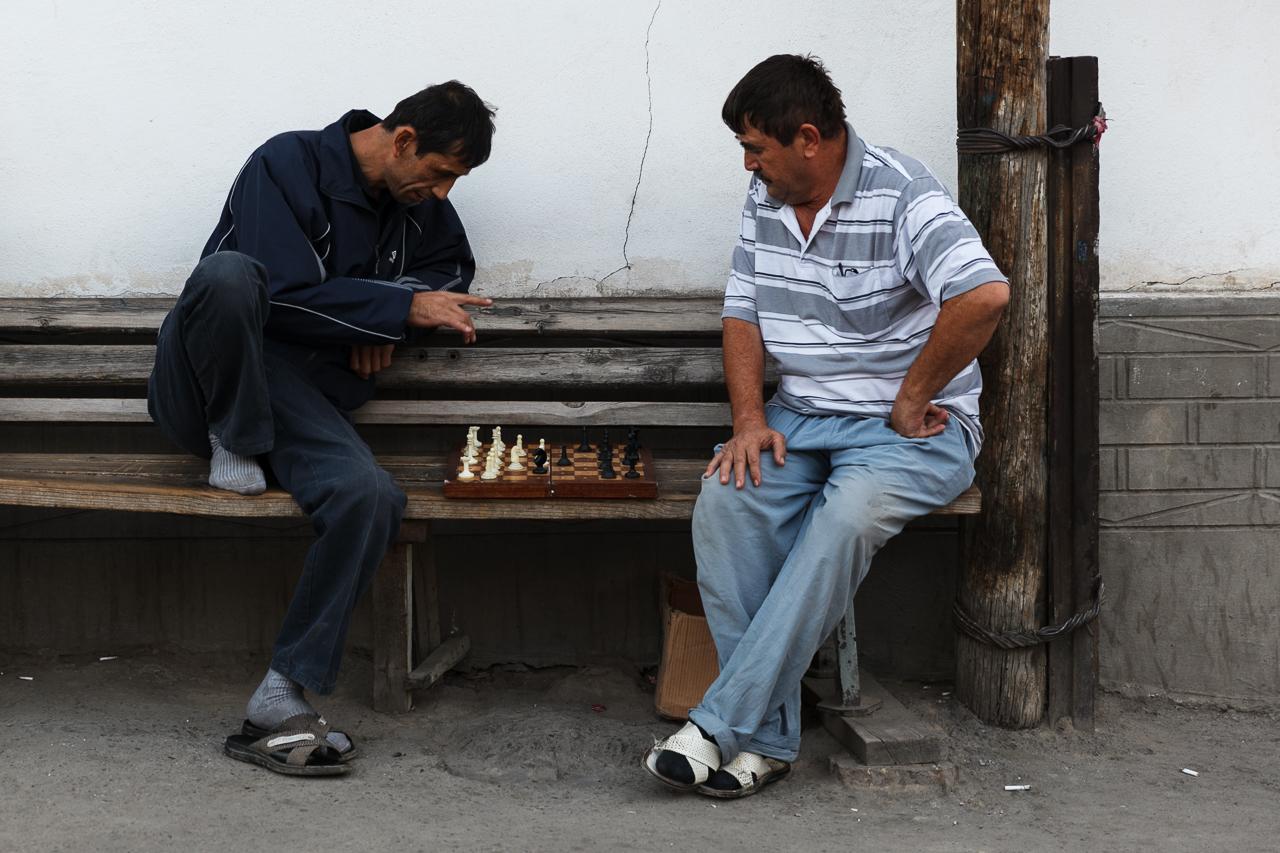 Игроки в шахматы