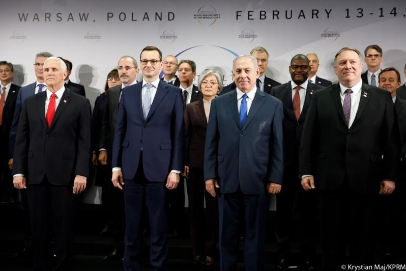 Международная конференция по Ближнему Востоку в Варшаве