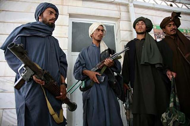 Бойцы «Талибан» (запрещенная в РФ организация)