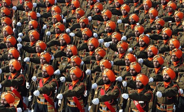 Армия Индии на параде