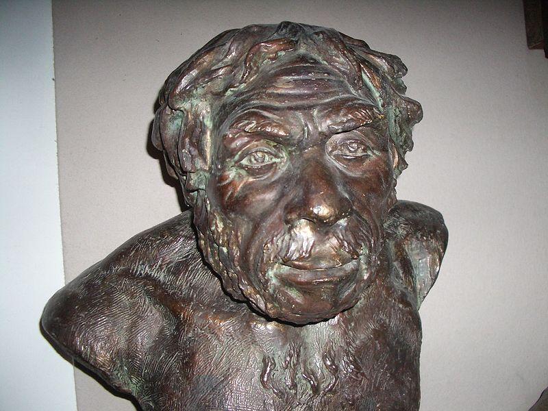 Неандерталец. Реконструкция М. Герасимова