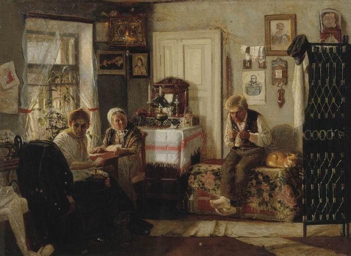 Михаил Нестеров. Домашний арест, 1883