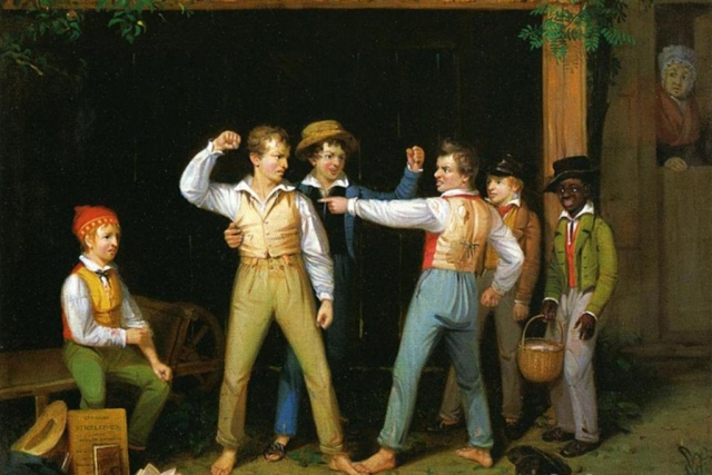 Уильям Сидней Маунт. Ссора школьников. 1830