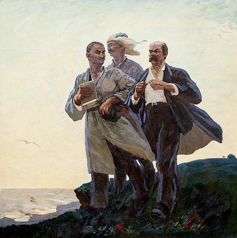 Молдахмет Кенбаев. Дорога отцов. 1964
