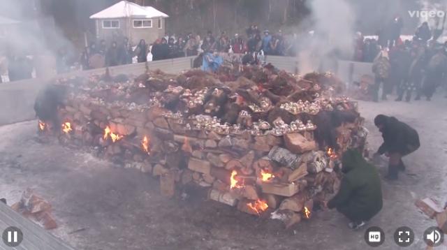 Обряд сожжения верблюдов провели байкальские шаманы
