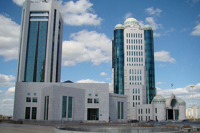 Здание Правительства Казахстана