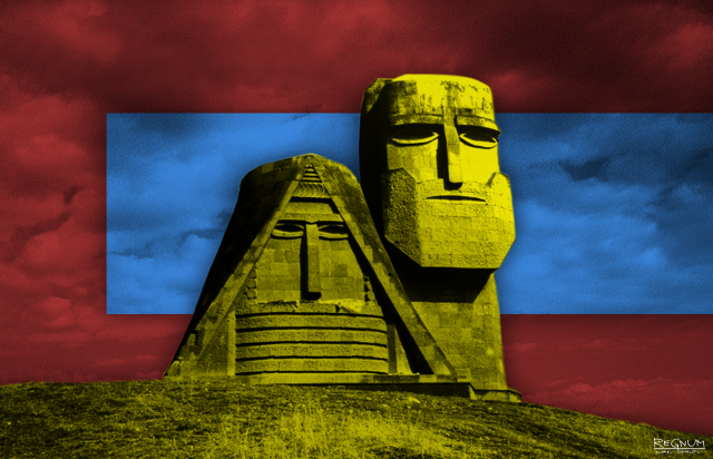 Монумент Мы — наши горы. Нагорный Карабах